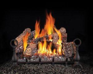Heat N Glo Gas Log Set Installing in Wood Fireplace
